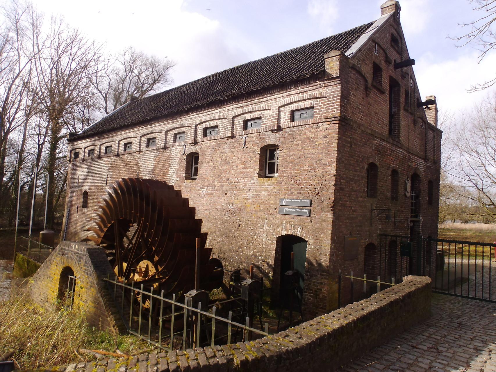Wassermühle in Arcen