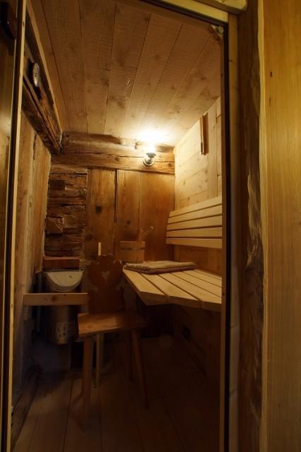 urige Sauna