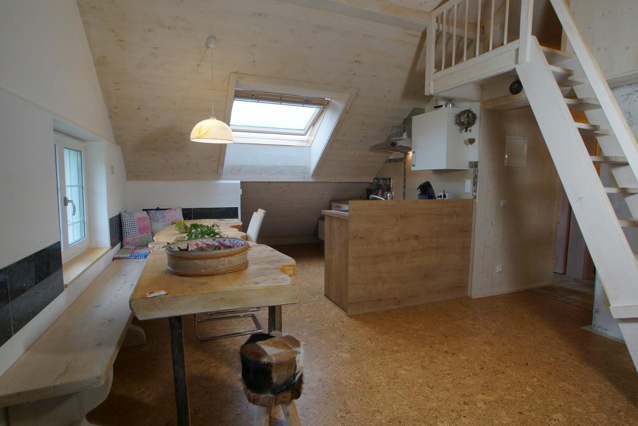 Dachwohnung Wohnessraum