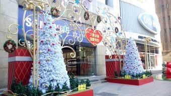 【圣诞节shèngdànjié】クリスマス 【圣诞夜shèngdànyè 】クリスマスイブ 【圣诞老人shèngdànlǎorén】サンタクロース 【圣诞树shèngdànshù】クリスマスツリー
