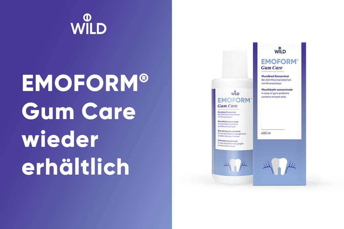 Ein Mundbad Konzentrat ohne Fluorid das Linderung bei empfindlichen Zähnen und freiliegenden Zahnhälsen bringt