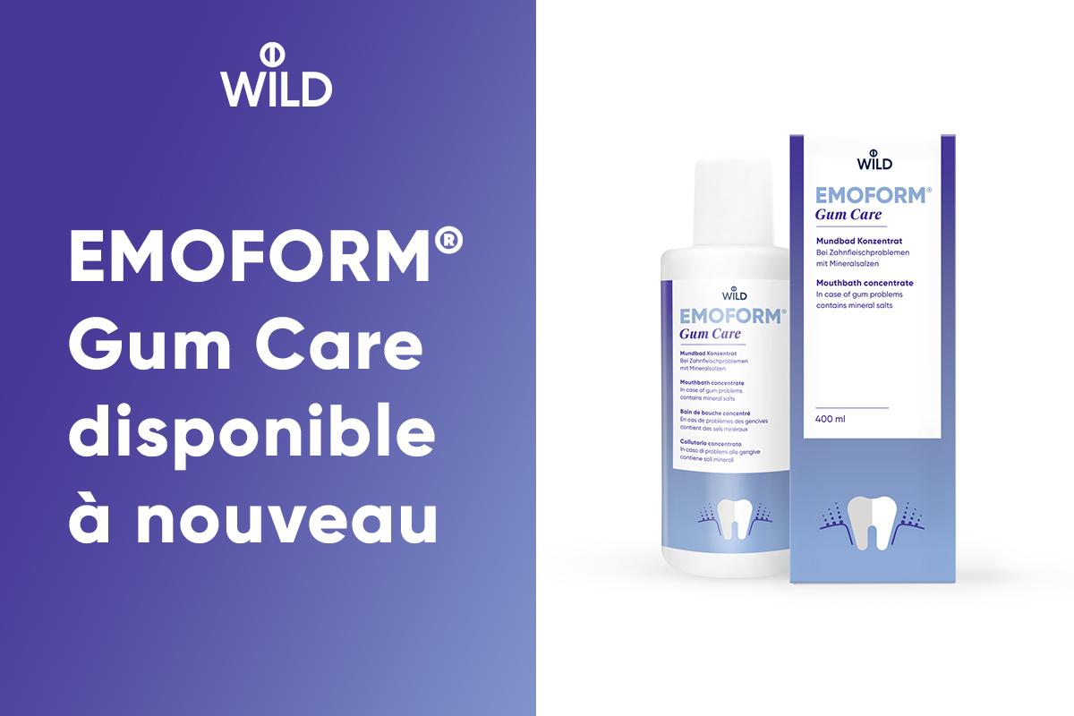 Un bain de bouche concentré sans fluorure qui soulage les dents sensibles et les collets exposés.