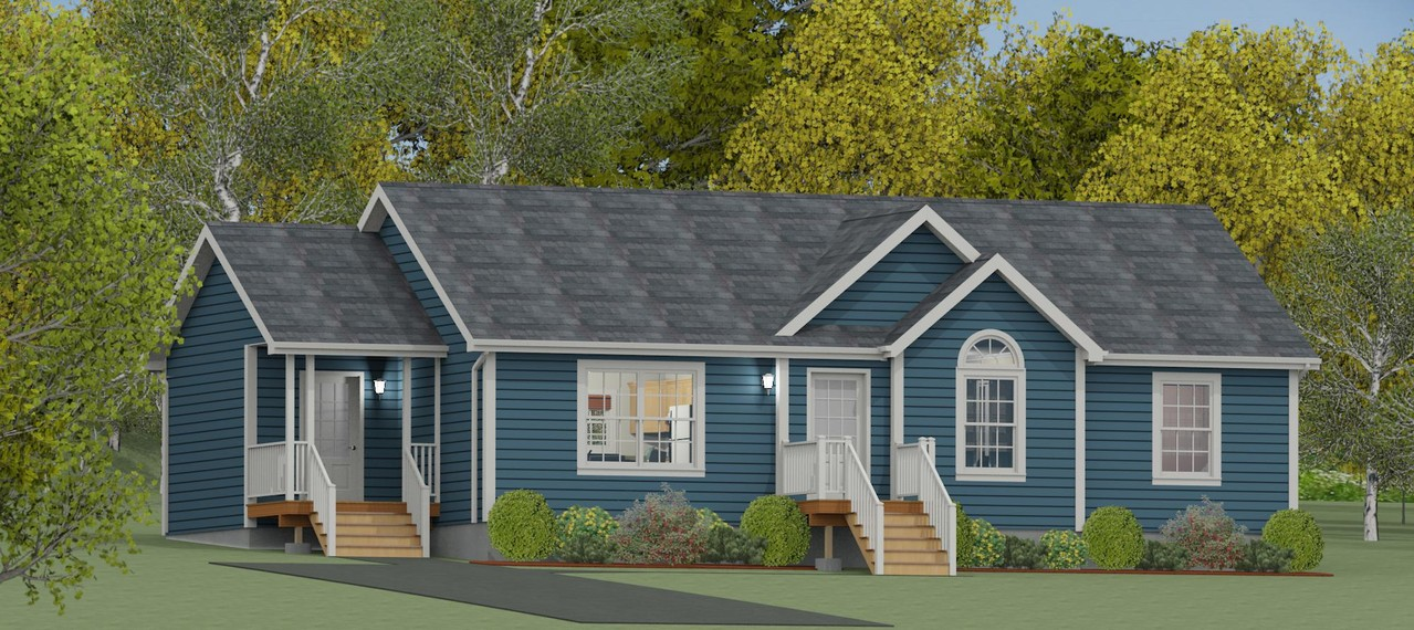 1332 sq ft, 3 Bedroom, 2 Bathroom, from $175,000+hst
