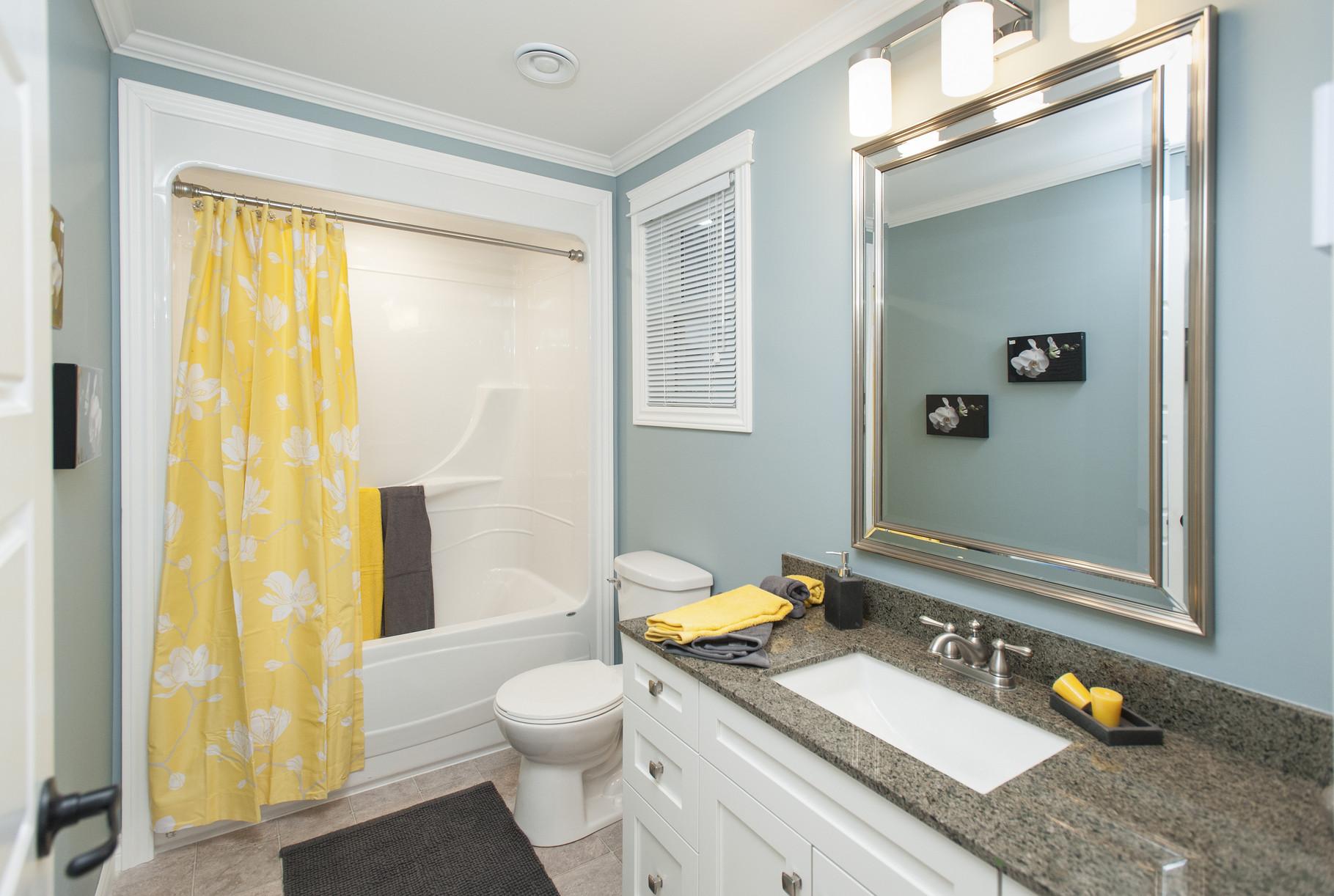 Vast range of bathroom options and finishes