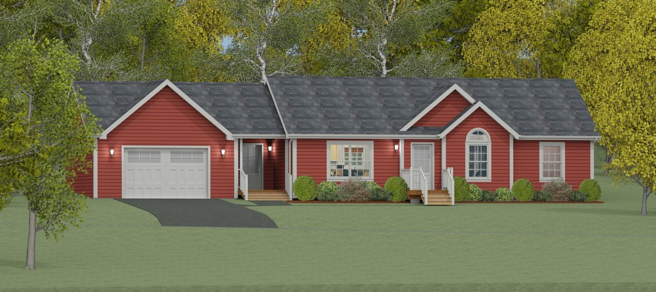 'The Brookside', Custom Designed Homes Created By Our In-House Design Expert
