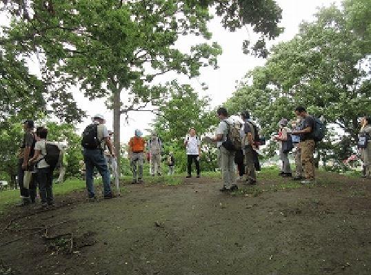 瓢簟塚古墳(ひさごづかこふん)(相模国造之墳墓) 神奈川県下でも有数の規模を誇る、4世紀から5世紀初頭にかけて作られた前方後円墳。  墳長80m級の規模であったと推定されます。