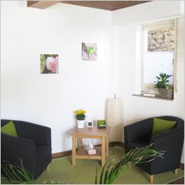 Praxis-Räume der Psychotherapie-Praxis im Rhein-Neckar-Raum
