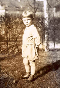 Julius Becke als Kind, Foto: CVB-Archiv