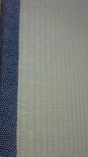 粋な鮫小紋の畳縁 調布市
