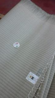 くまモンのシール付の畳おもて  国産の畳おもて 天然イグサ畳