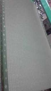 中国産の畳おもて 畳表替え