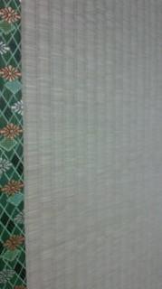 ★「菊」の畳へりで表替え★