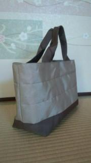 畳縁(へり)で作ったバッグ  日野市  畳替えのお客様よりご注文