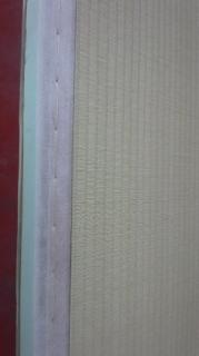 畳床も新しく「新畳:しんたたみ」を作っている途中の画像