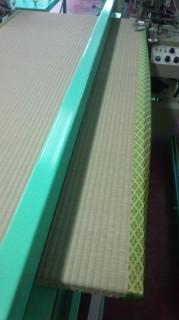 金色と緑色のコントラストが好評の成平(なりひら)の畳へり