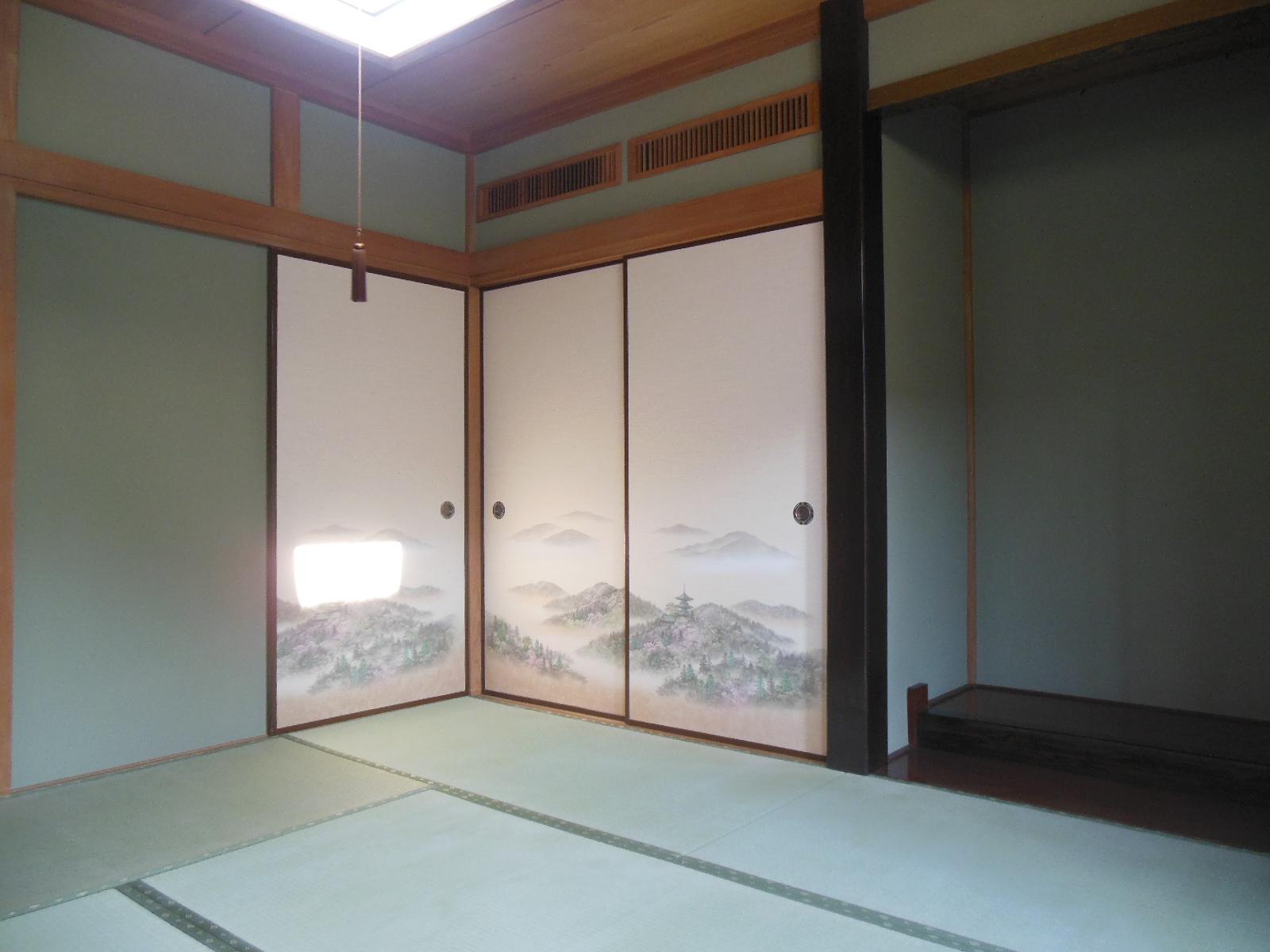 日野市M様 畳と京壁と張替え 糸入り