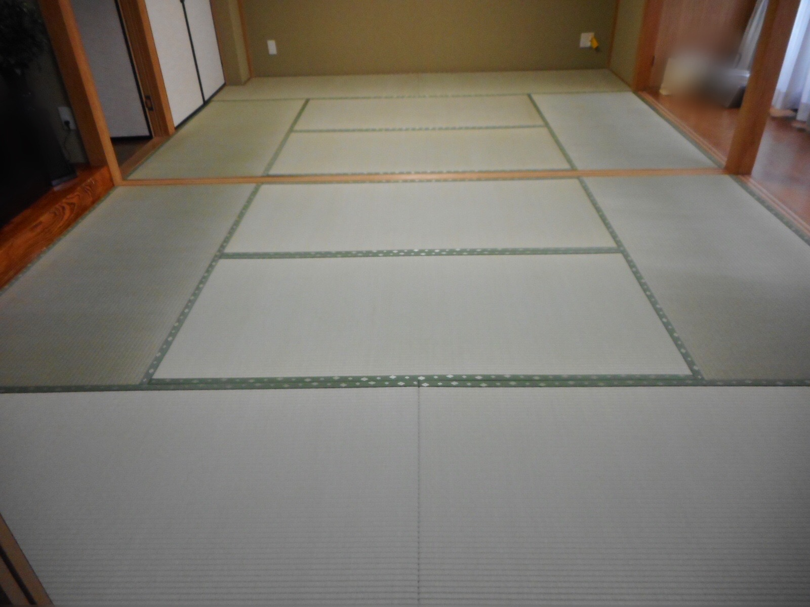 日野市O様特選畳おもてで新畳の施工写真