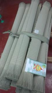 当店の「上」の畳おもて 事前に準備をしっかりして畳替えに備えます