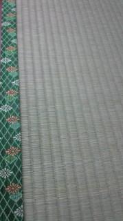★「上」の畳おもて&菊模様の畳へり★