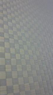 ★市松模様の畳「引き」の画★