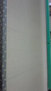 国産畳おもて 作製機械の上の畳