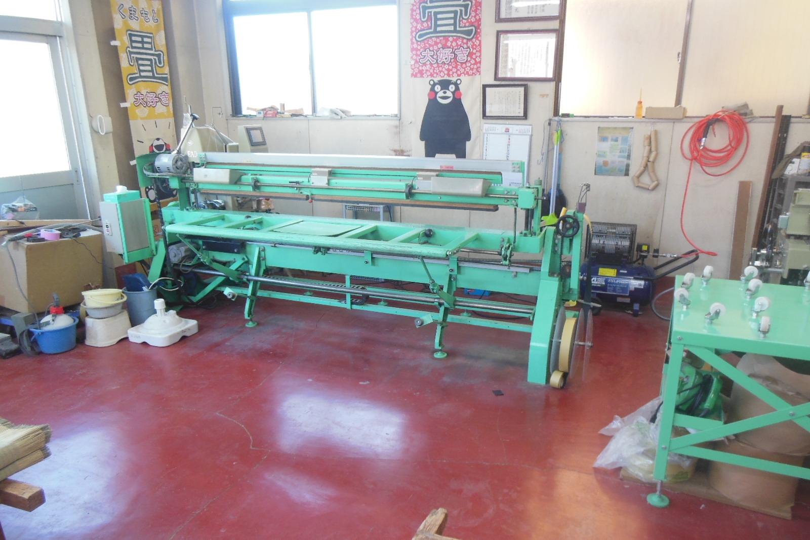 畳をお預かりする清潔な作業場