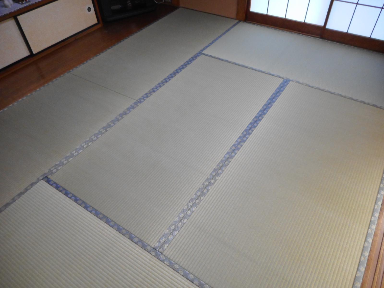 日野市K様 熊本県産上級品の畳の施工写真!