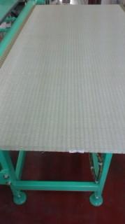 畳の日 薄い畳床も対応している当店の畳「返し専用」機械