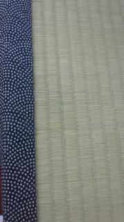 古典柄の畳ヘリ 畳替え