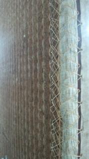 ★しゅろの繊維が付いた畳の床★