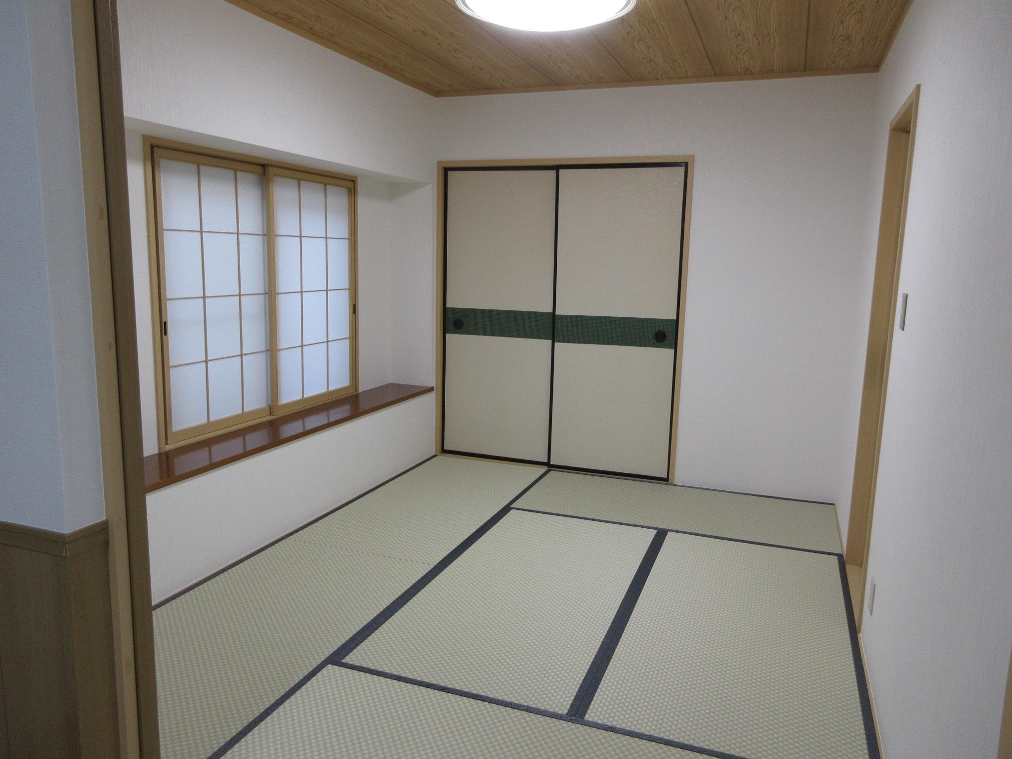 日野市Y様 和室 壁紙(クロス)貼替と新畳