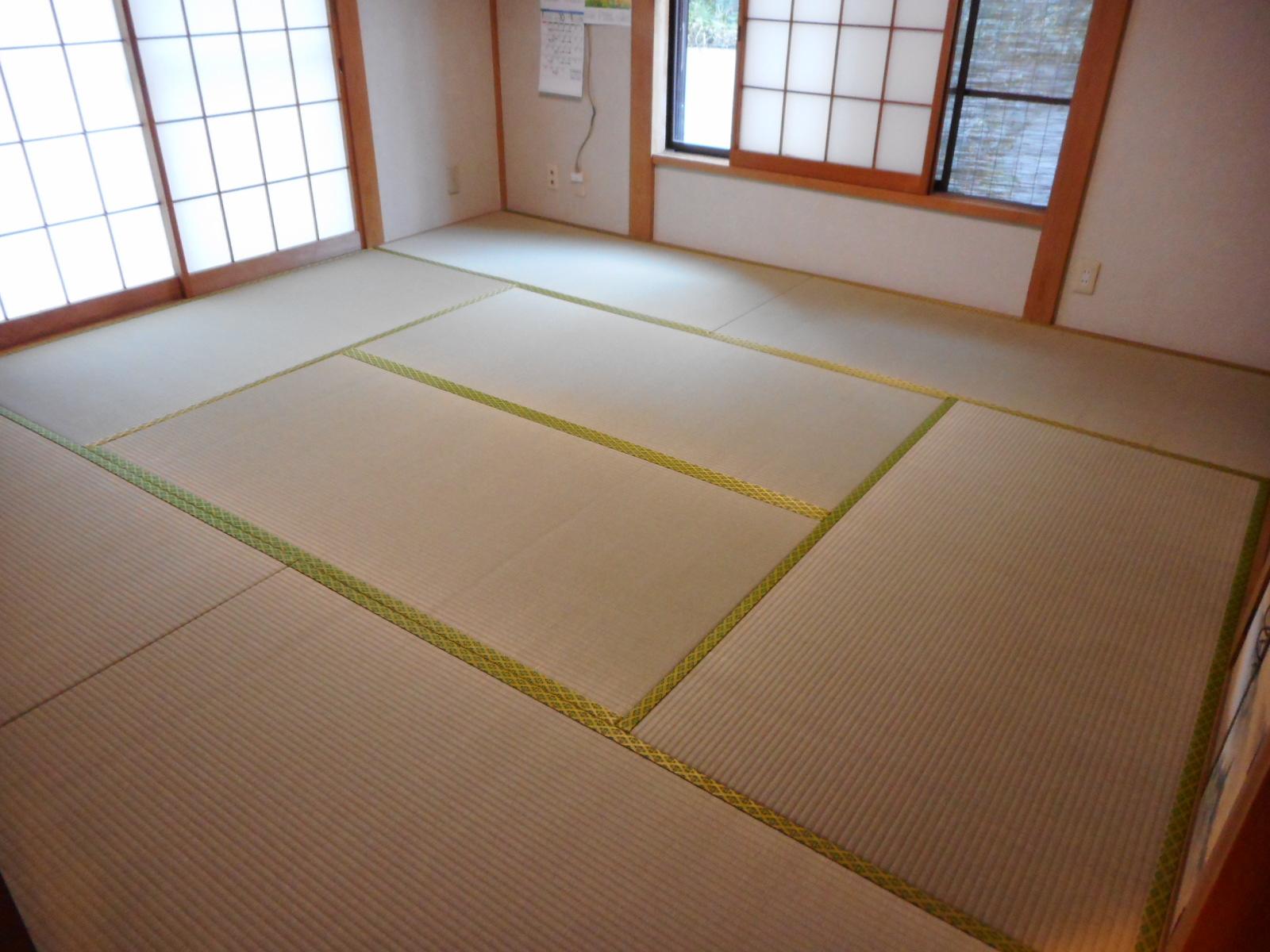 日野市K様上級畳おもてをご注文頂いた施工後の画像です