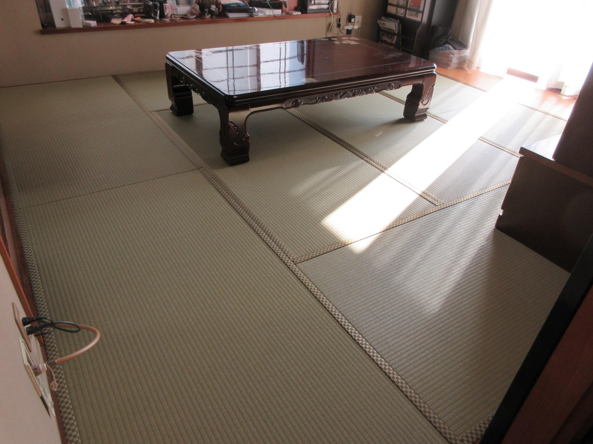 日野市S様 ダイケン銀白+床暖房用畳