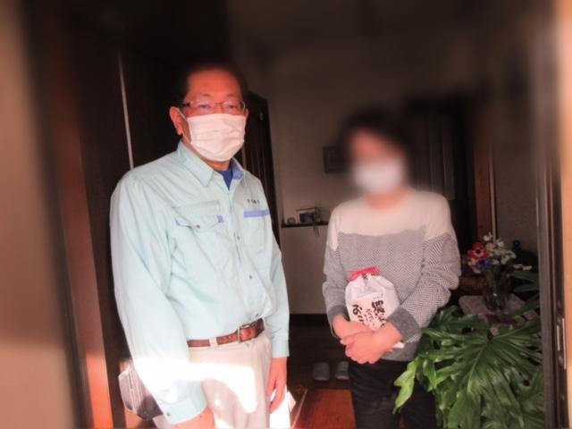 熊本県産の畳に替えてプレゼントキャンペーン!ご当選者様においしいお米をお届けしました。