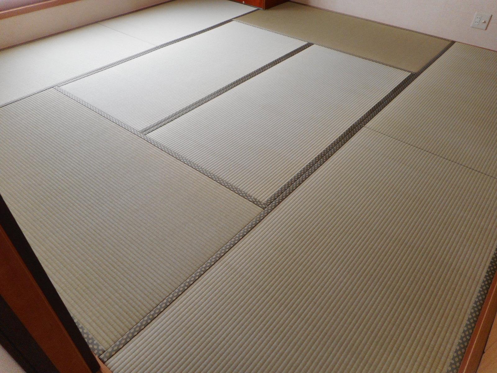 国分寺市S様「特上」畳おもてで畳表替えした時の施工写真です