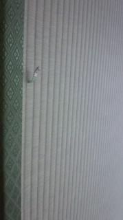 国産(熊本県産)の畳おもてに差し込んである畳おもて生産者情報のタグ