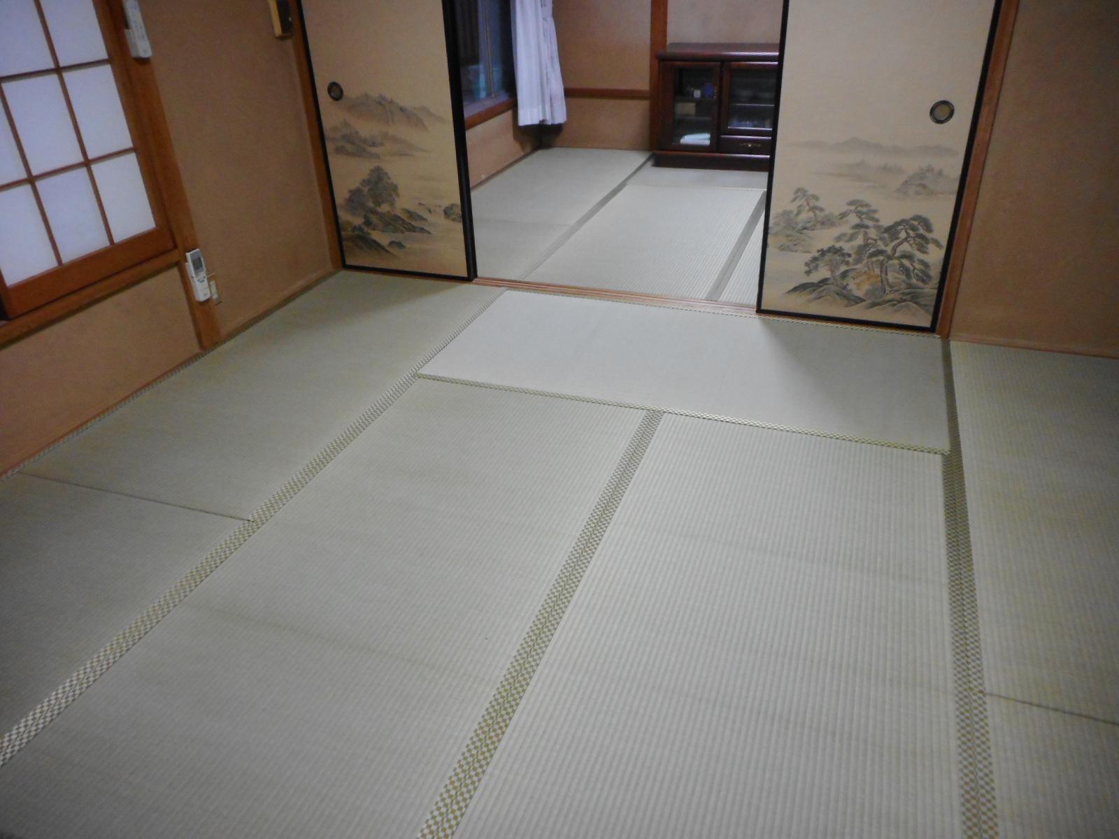 立川市A様特上の畳おもての施工例写真です