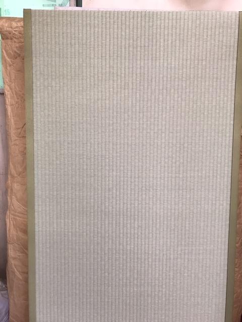 ビニール畳セキスイ美草で新畳作成中の画像