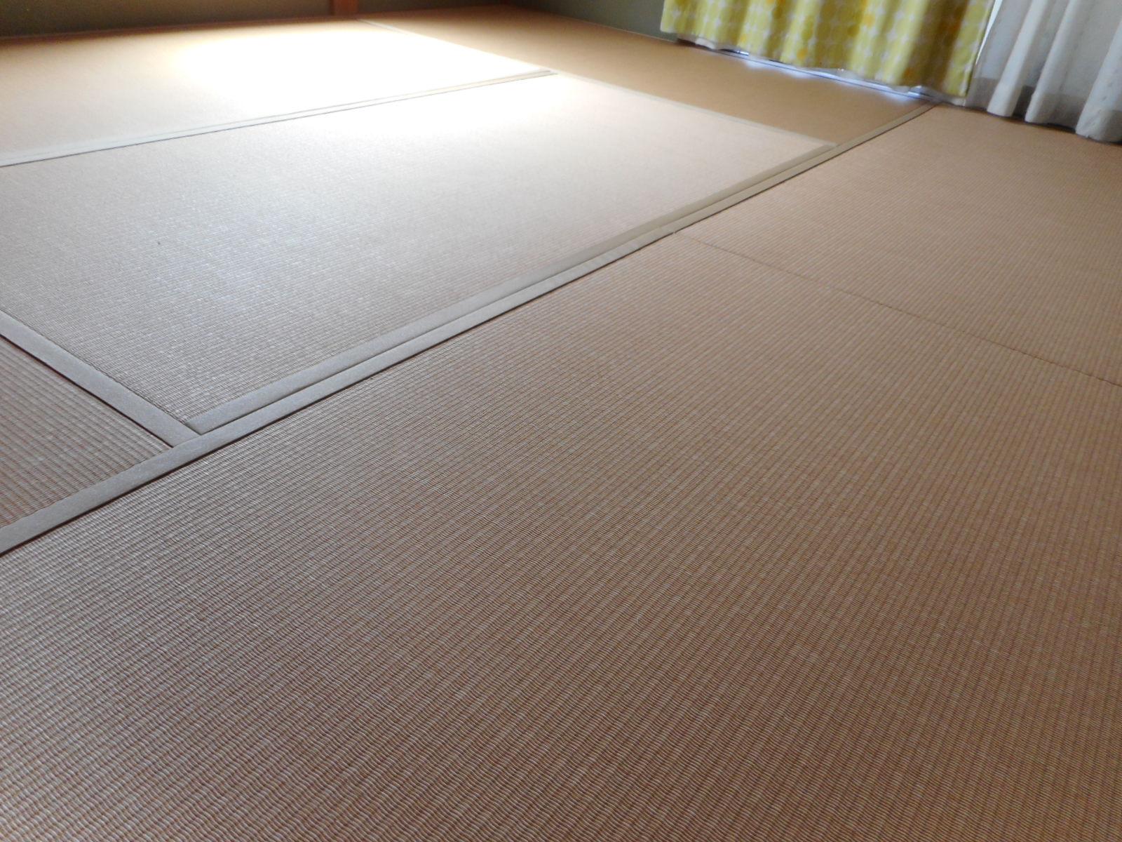 日野市M様 ダイケン清流カクテルフィット亜麻色+白茶色