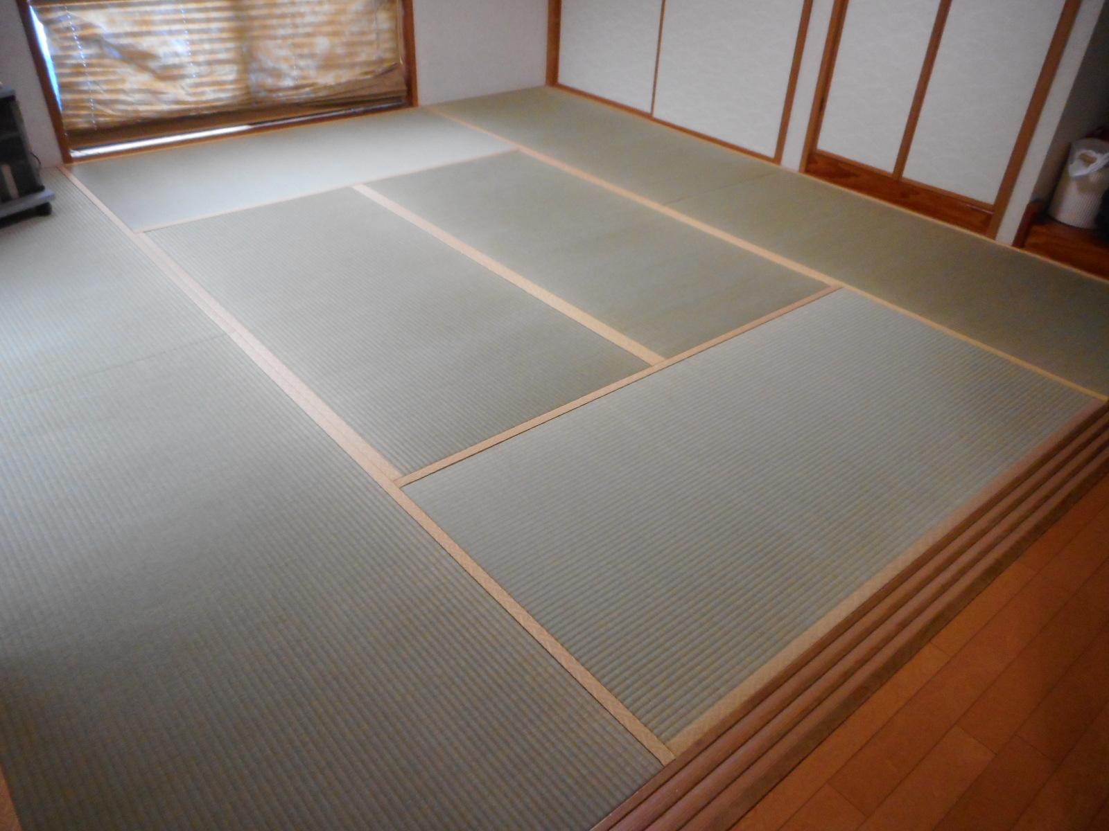 八王子市H様 上級畳おもてで表替えの施工後写真