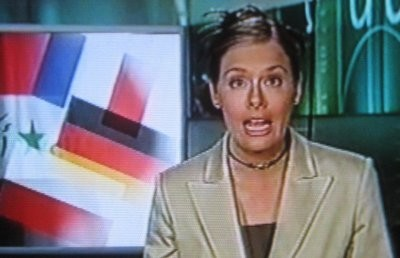 YLE TV anchor Piia Pasanen in 2003