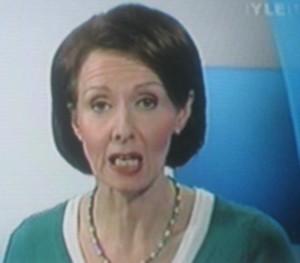 YLE TV anchor Annamaija Manninen in 2011