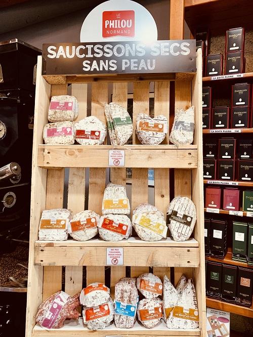 Saucisson artisanal Normand