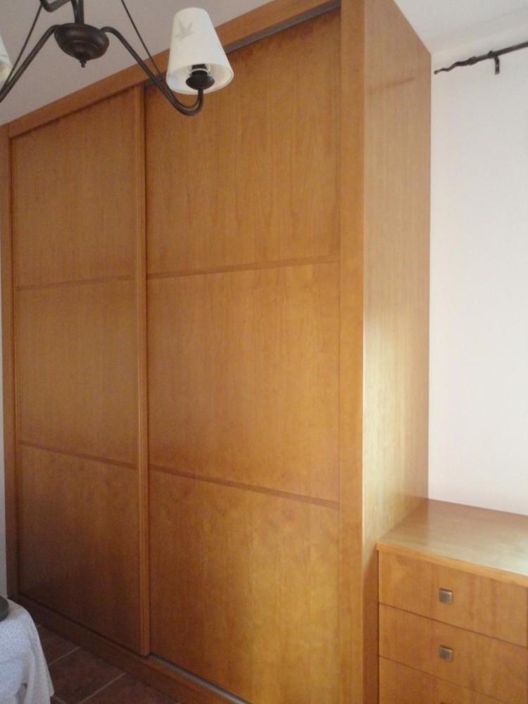 Armario y escritorio de pino cocinas jaen - Escritorio de pino ...