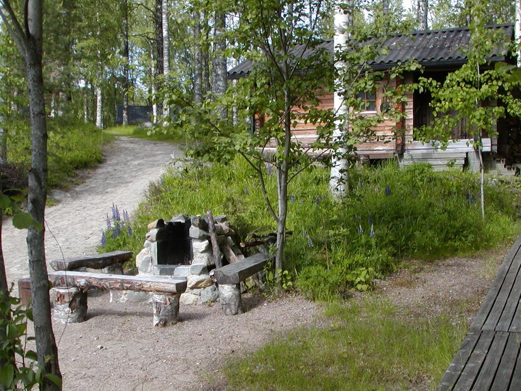 Grillplatz an der Rauchsauna