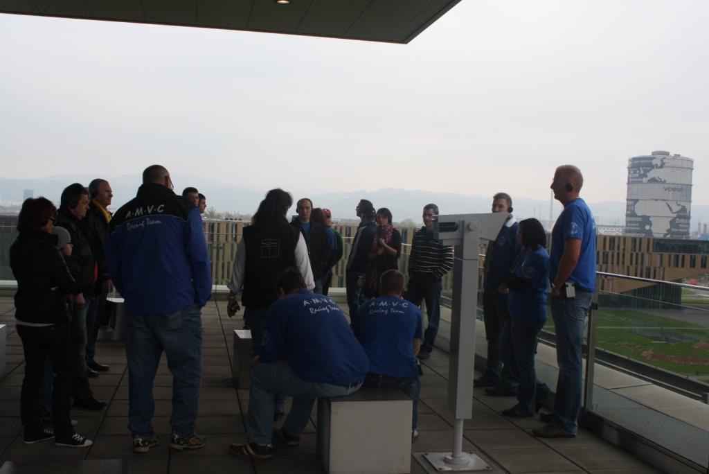 Aussichtsplattform auf dem Voestgelände