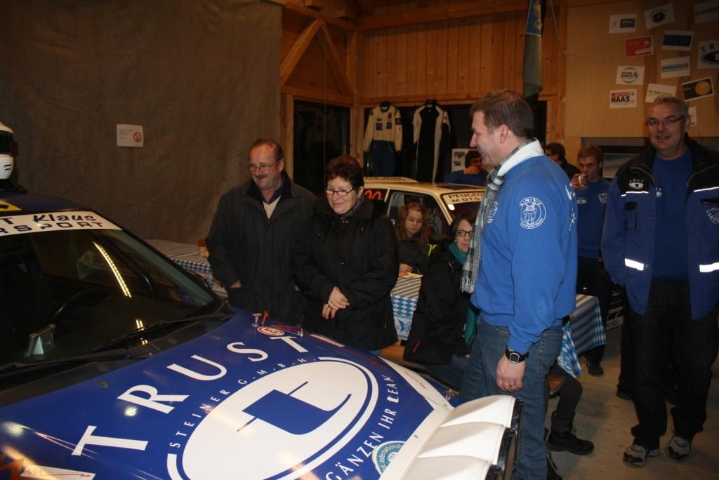 Hr. Bürgermeister Leopold Buchberger mit Gattin