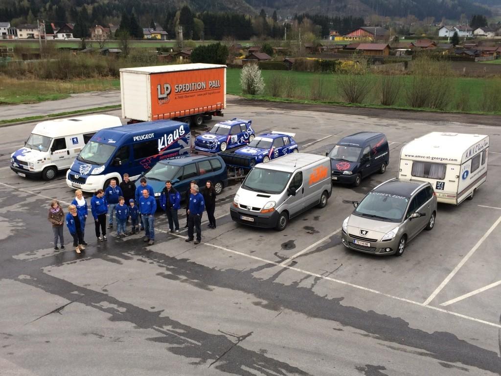 Bei der Hinfahrt.. kurze Pause in Trieben - tolle Luftaufnahme :-)