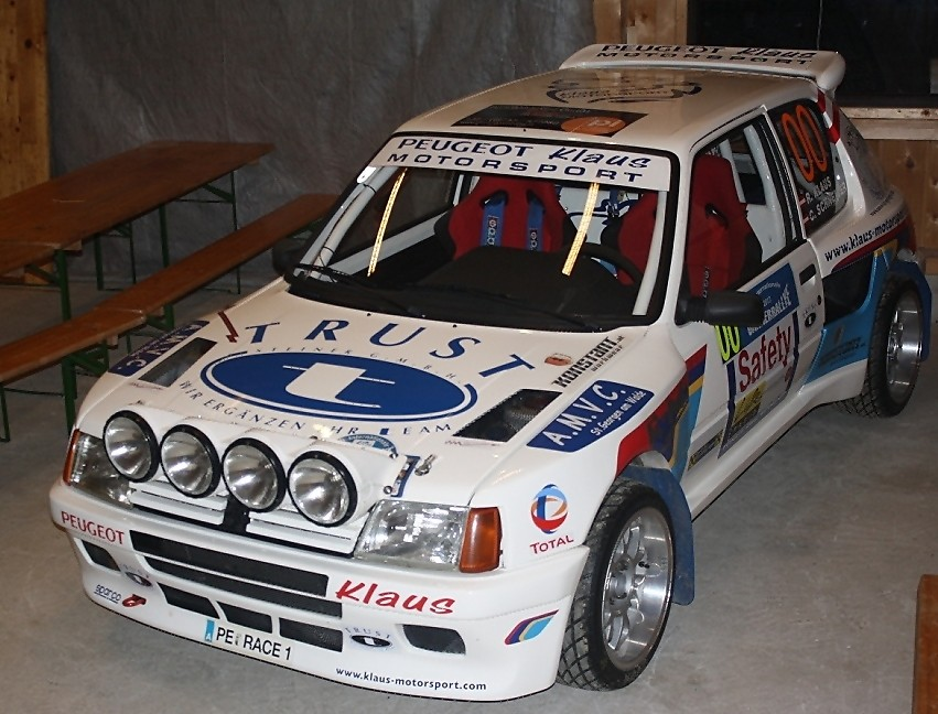 Der Peugeot 205 Turbo 8 - Start Nr. 00