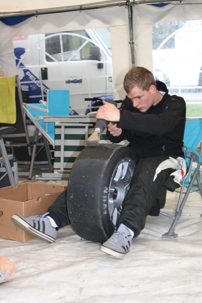 Reifen abziehen